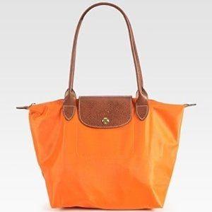LONGCHAMP ORIGINAL large shopper tote orange
